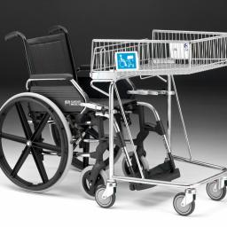 62 Litre Disabled Shopping Trolley