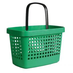 STOCK CLEARANCE - 28 Litre plastic hand basket - Green