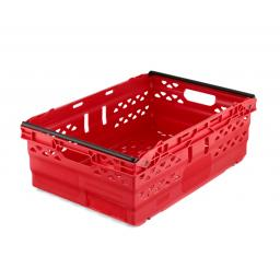 Red 38L Stack/Nest Crates