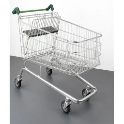 190 Litre Large Wire Second Hand Supermarket Shopping Trolley