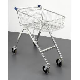 70 Litre Refurbished Shallow Easy Shopper Supermarket Shopping Trolley