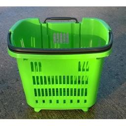 34 Litre Trolley Basket - Bright Green