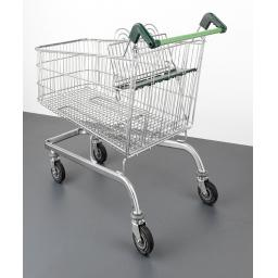 190 Litre Large Wire Refurbished Supermarket Shopping Trolley