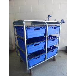 Large Picking Trays for Order Picking Trolleys