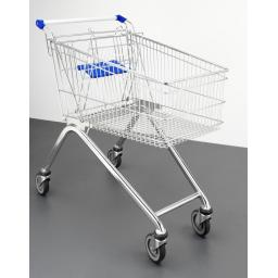 130 Litre Medium Wire Refurbished Supermarket Shopping Trolley