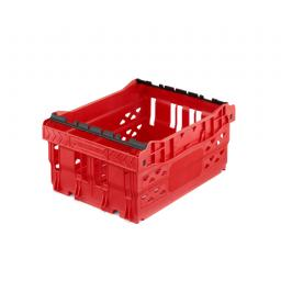 Red 14 Litre Stack/Nest Crate