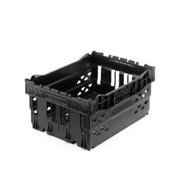 Black 14 Litre Stack/Nest Crate