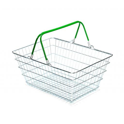 23 Litre Wire Shopping Basket