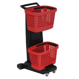 Two Tier Basket Trolley - The Snupy