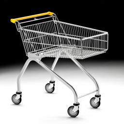 80 Litre Light Shallow Shopping Trolley