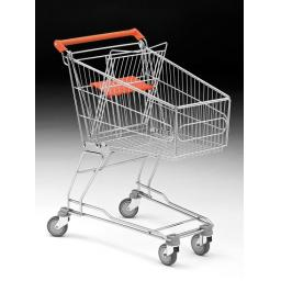 80 Litre Small Wire Shopping Trolley