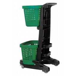 STOCK CLEARANCE Two Tier Basket Trolley - The Snupy