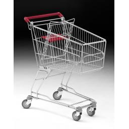 100 Litre Medium Wire Shopping Trolley