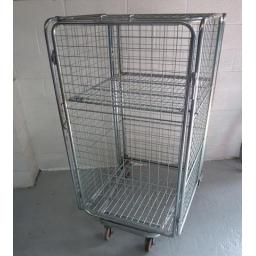 Full Security Cage with a Fixed Shelf