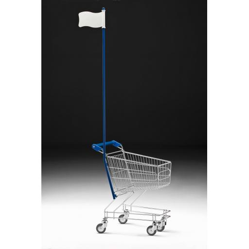 25 Litre Children's Trolley with Flag