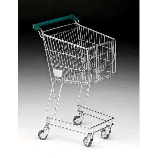 50 Litre Small Wire Shopping Trolley