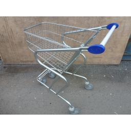 57 Litre Small Wire Supermarket Shopping Trolley