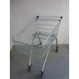 100 Litre Refurbished Daily Shopper Supermarket Shopping Trolley