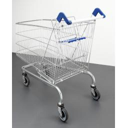 232 Litre Extra Large Wire Refurbished Supermarket Shopping Trolley