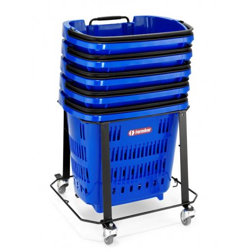 Trolley Basket Stacker - 34L