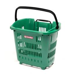 34 Litre Trolley Basket - Green