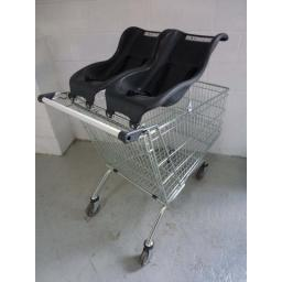 212 Litre Refurbished Trolley with Twin Baby Seats