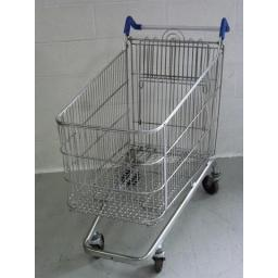 232 Litre Extra Large Wire Used Supermarket Shopping Trolley