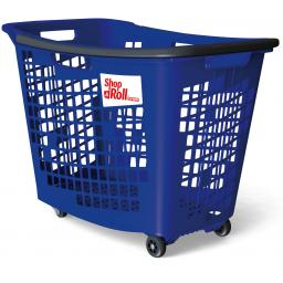 55 Litre Trolley Basket - Blue