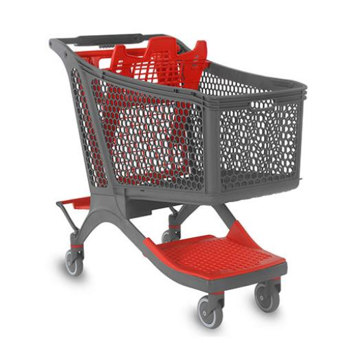 Plastic Trolley - 198 litres
