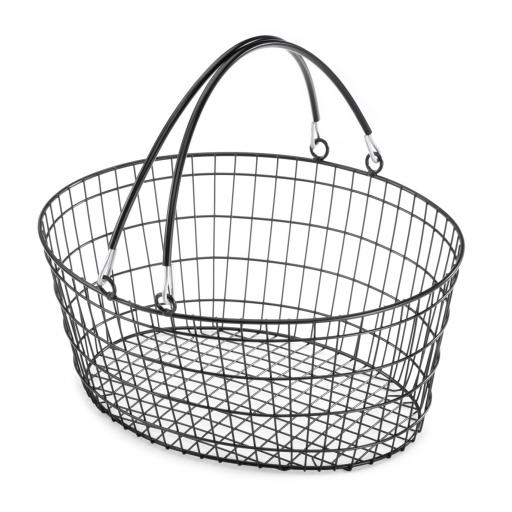 The Ellipse Oval Wire Basket - Powder Coated