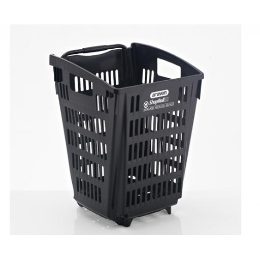 52 Litre Trolley Basket - Recycled basket