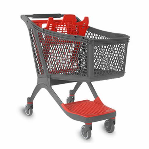 Plastic Trolley - 164 Litres