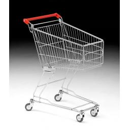 60 Litre Small Wire Shopping Trolley