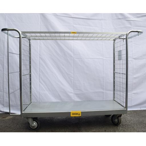 U Shape Trolley With Shelf