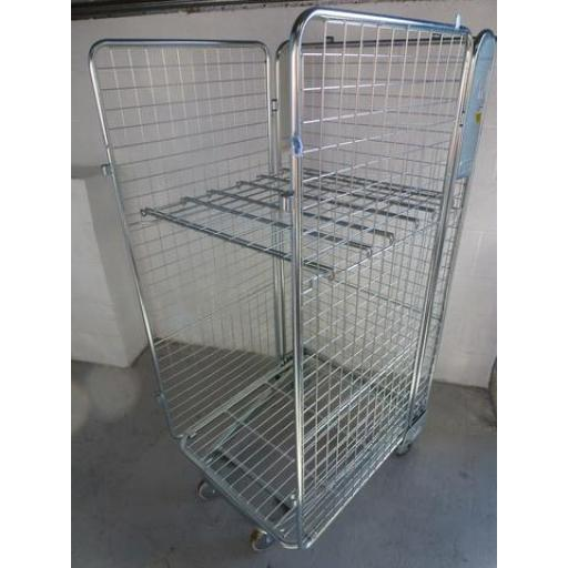 Refurbished Roll Cage With Shelf