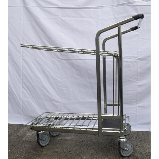 2 Tier Merchandise Trolley