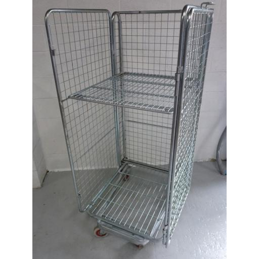Refurbished 4 Sided Cage With Shelf