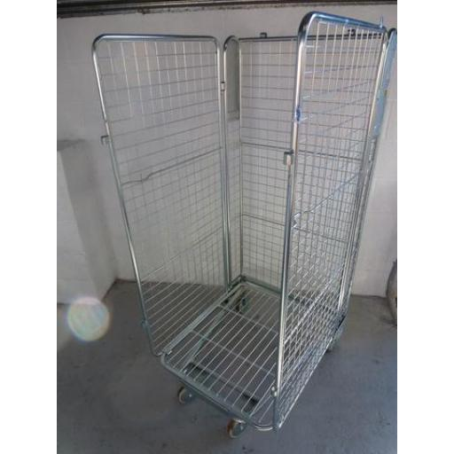 Refurbished 3 Sided Cage