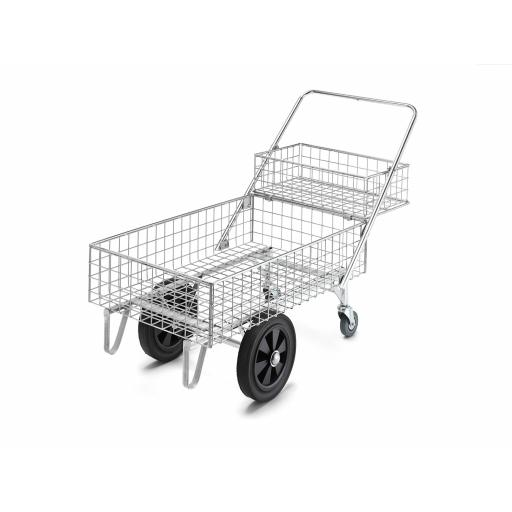Garden Centre Trolley Double Basket