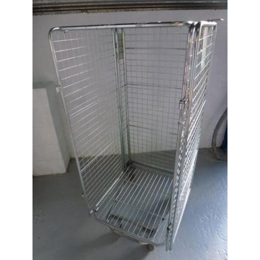 Refurbished 4 sided Full Security Cage