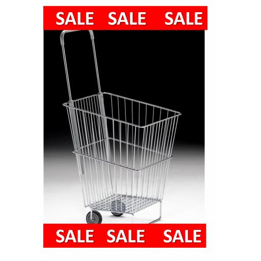 Wire Trolley Basket 50 Litre