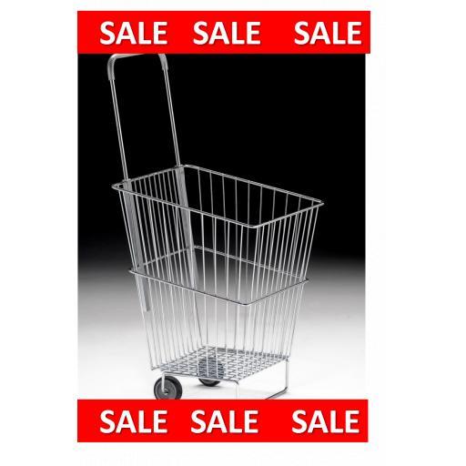 Wire Trolley Basket 50 Litre