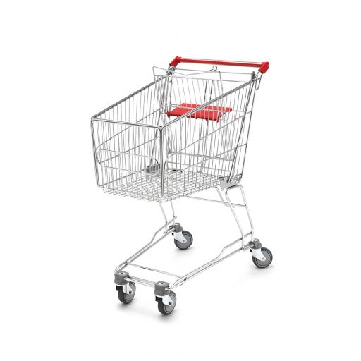 100 Litre Medium Wire Shopping Trolley