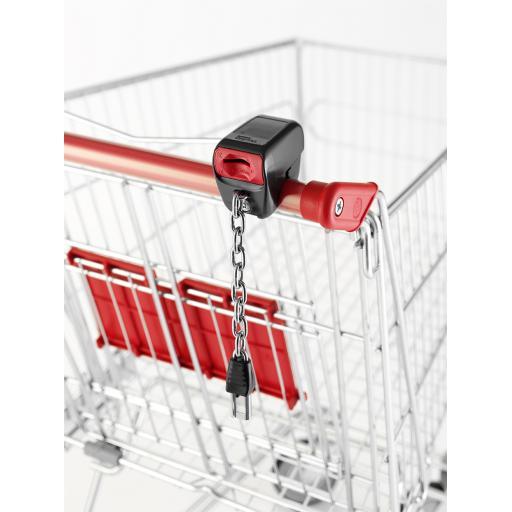 Systec Smartloc £1 Trolley Lock