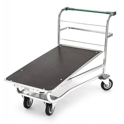 Large Cash & Carry Flatbed With Wood Base