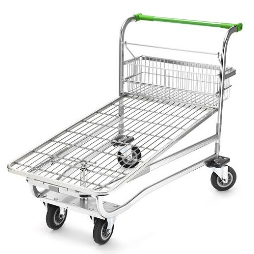 Large Cash & Carry Flatbed With Wire Base